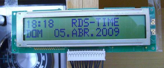 RDS clock