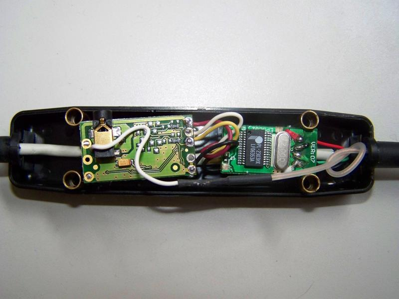 GNS FM9 receptor con convertidor USB a TTL